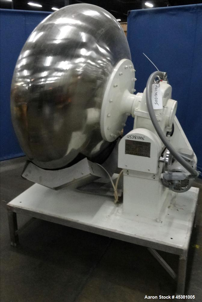 Used- Jiangsu Cuibao Group Chufa Sugar Coating Machine, Model BTJ-1250