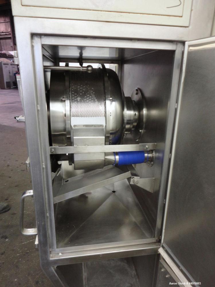 Used- Stainless Steel Dumoulin Coating Pan, Type IDA 5 X