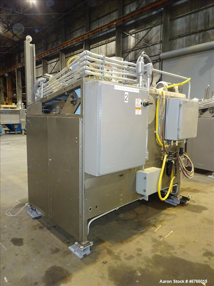 "Used- DTG Finn 10.89 Cubic Feet Belt Coater, Model ""Enhanced"". Unit is rated for a 309+ liter capacity and a batch size of u..."