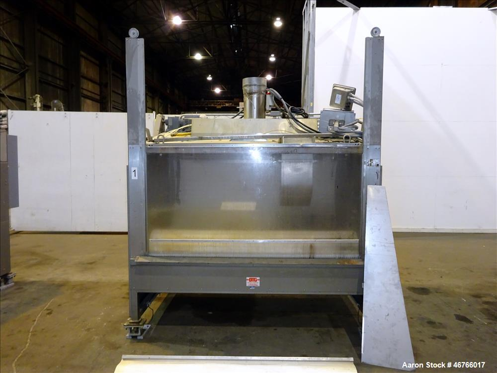 """Used- DTG Finn 10.89 Cubic Feet Belt Coater, Model """"Enhanced"""". Unit is rated for a 309+ liter capacity and a batch size of u..."""