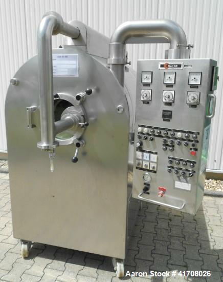 Used- Glatt Laboratory Coating Plant, Type GC-600 S
