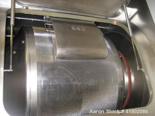 "Used- 48"" Glatt Coating Pan, Type GC-X-1250"