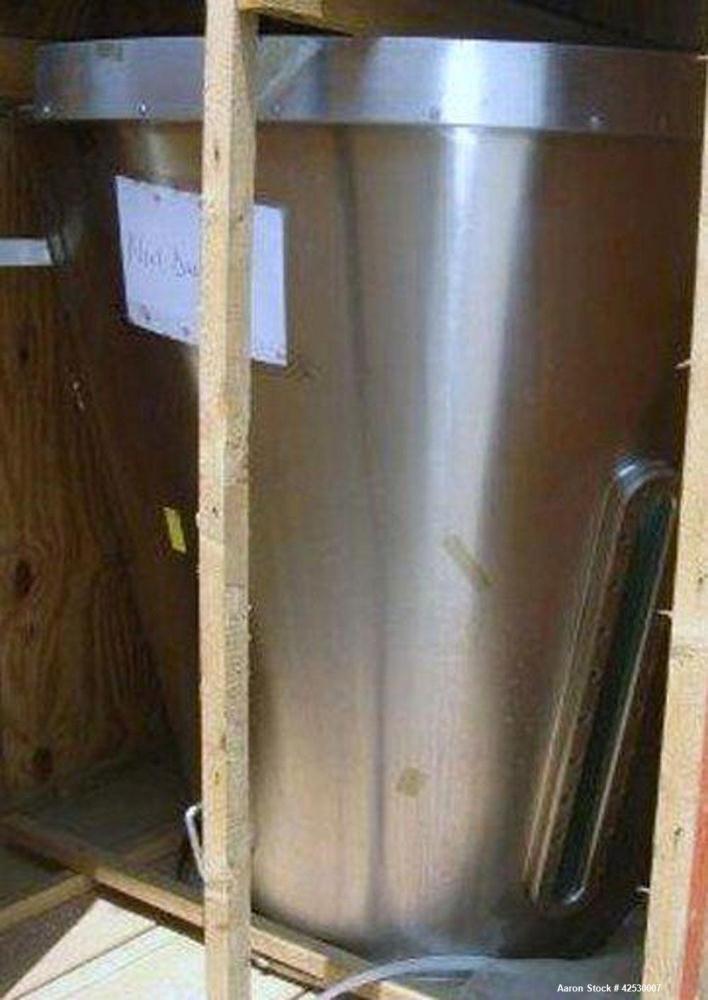 Used- Stainless Steel Glatt Insert, Model GPCG60