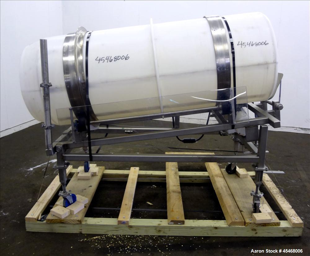 Used- Johnson Industries Drum Tumbler