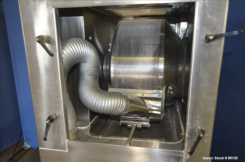 Used- Stainless Steel Manesty Accela-Cota Tablet Coating Machine, Model 10