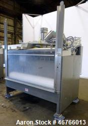 "DTG Finn Belt Coater Model MAXI, 304 Stainless Steel, Approximate 72"" wide Belt. Spray bar with (10..."