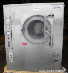 Used- Stainless Steel Thomas Engineering Accela-Cota Coating Pan, Model 48-111