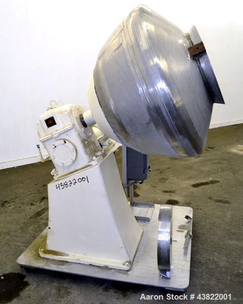 Used- Stainless Steel Multi-Purpose Coating Pan