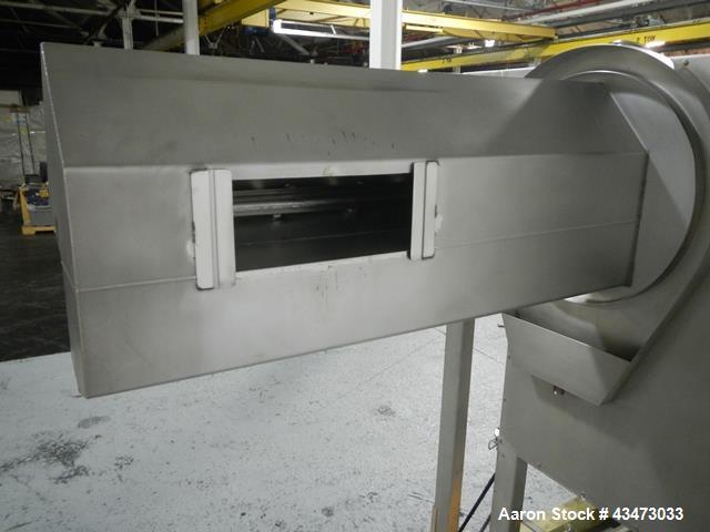 Used- Stainless Steel Pellegrini Coating Pan, Model T300