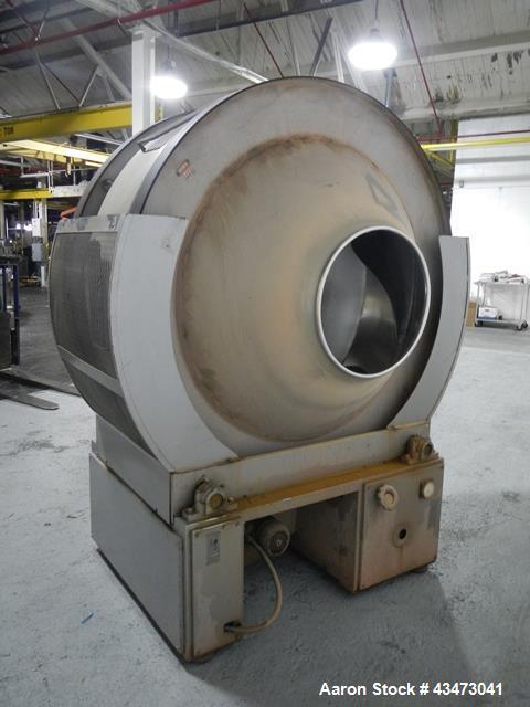 Used-Pellegrini Coating Pan, Model T300
