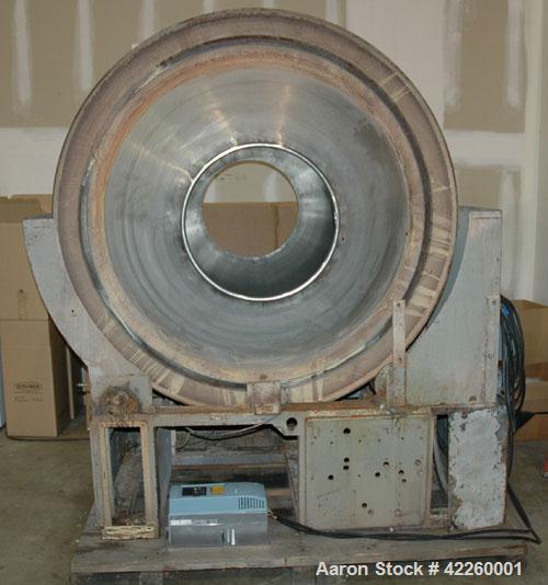 """Used-Pellegrini 60"""" Coating Pan"""