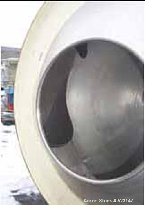 "Used- Pellegrini Coating Pan. 21"" diameter openings, internal baffles, standard base, complete with variable speed drive."