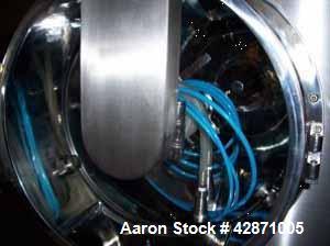Used- Stainless Steel Pharmtech HLC 100 Coater