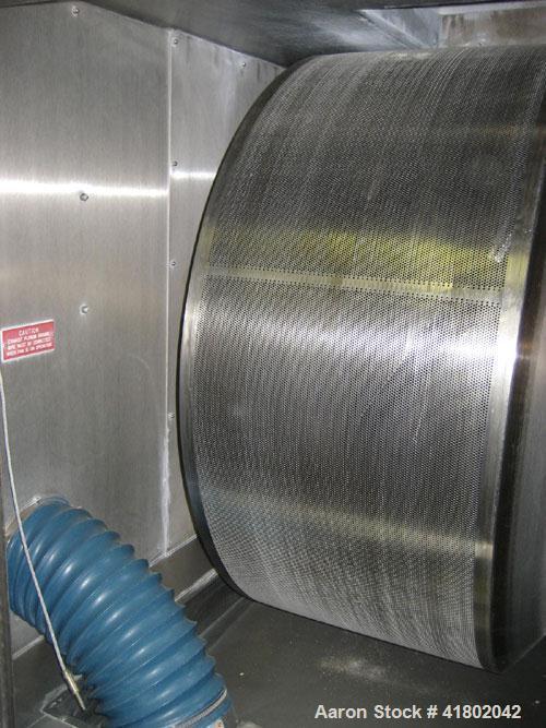 Used- Thomas Engineering Accela-Cota, Model 48MIII, Stainless Steel. 48'' diameter x 39-1/2'' deep pan with a 19'' opening, ...