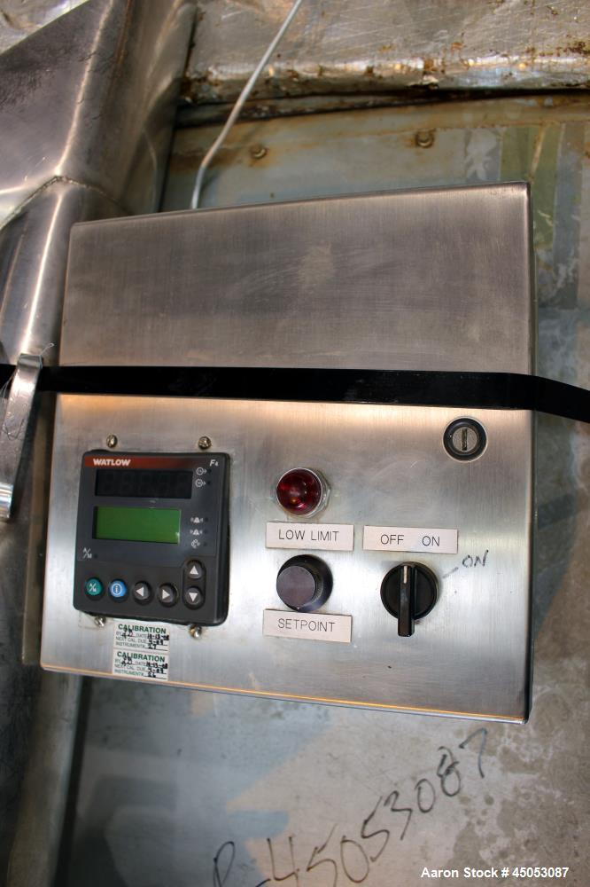 Used- Stainless Steel Thomas Engineering Accela-Cota Coating Pan, Model 48-V