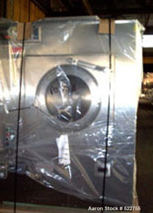 """USED: Thomas Engineering Accela-Cota coating pan, model 48. 48"""" diameter perforated pan, stainless steel construction, with ..."""