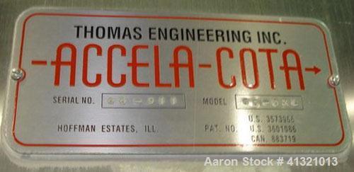 "Used- Thomas 66"" Accela Cota, Model 66-DXL"