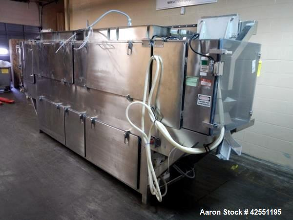 Used- Stainless Steel Thomas Engineering Continuous Coating Pan