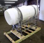 Used- Johnson Industries Seasoning Drum Tumbler. Approximately 30