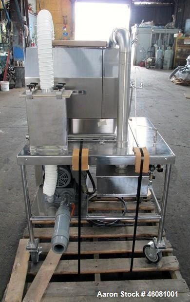 """Used- Vectro Hi-Coater, Model HCT-30. 12"""" Diameter perforated stainless steel pan, stainless steel enclosure. Electrically h..."""
