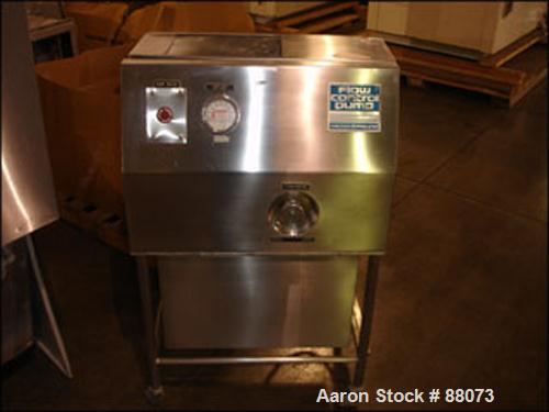 Used- Stainless Steel Vector Freund Hi-Coater, Model HCT130