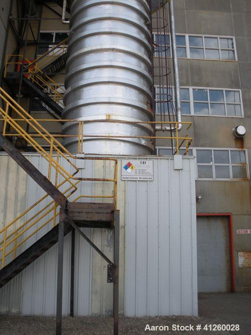 Used-Column, approximately 10' diameter x 90' high, stainless steel.  Previously used as a water stripper tower.