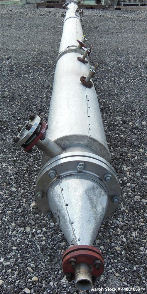 Used- Stainless Steel Par Piping and Fabrication Tray Column