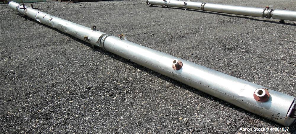 Used- Stainless Steel Par Piping and Fabrication Packed Column