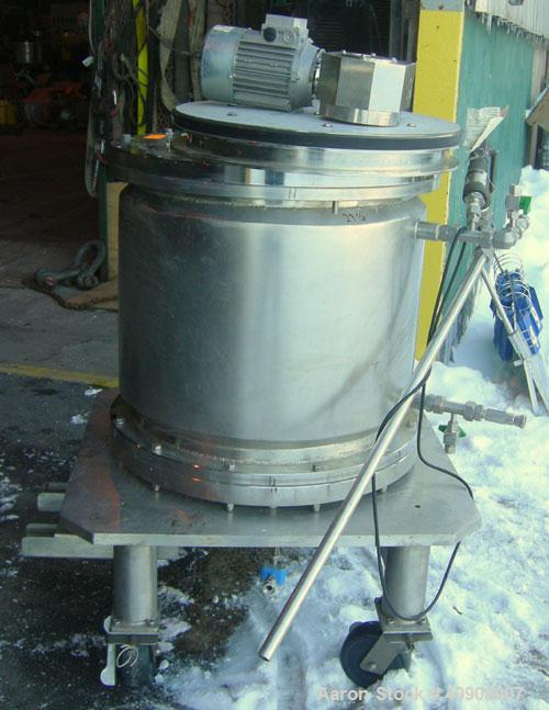 Used- Stainless Steel Verdot Industrie EasyPack Chromatography Column