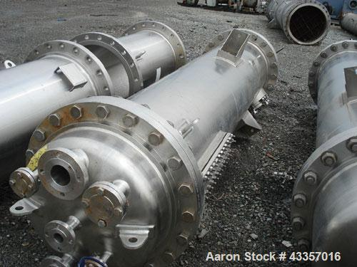 "Used- Apache Column, 316L Stainless Steel. 24"" Diameter x 136"" long with additional removable 48"" long section for total str..."