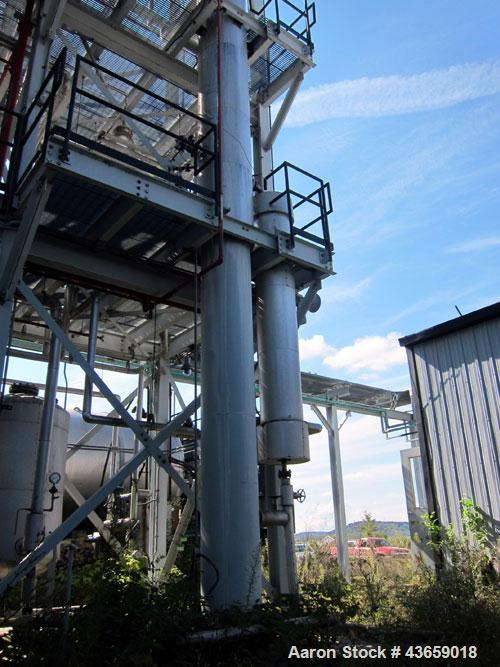 Used- Stainless Steel Arrow Tank & Engineering Sieve Tray Column