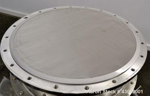 Used- Stainless Steel Pharmacia Biotech BioProcess Column, Model BPSS 600/200