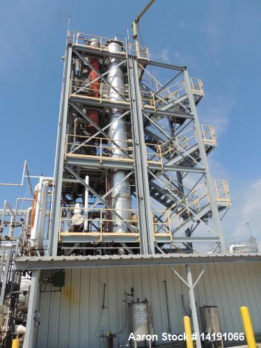 Used- Chem-Pro Skid Mounted Butadiene Distillation System.