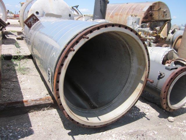 Used- Stainless Steel Cryochem Step III Distillation Column