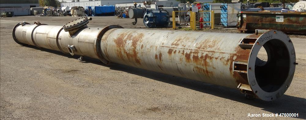 "Used- CR Construction Inc, Acid Reduction Column. 36"" diameter"