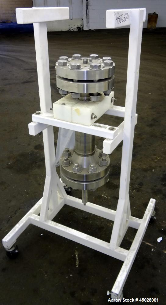 Used- Stainless Steel Separations Technology Laboratory Column