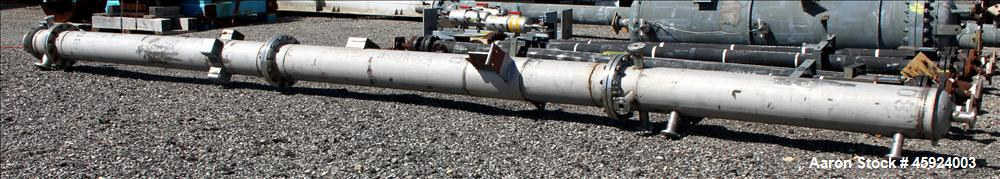 "Used- Kennedy Tank & Mfg. Co. Column, 304 Stainless Steel, Vertical. Approximately 30' 8"" long x 12.75"" diameter. Dished top..."