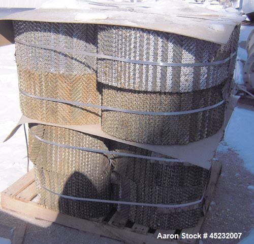 Used-Koch-Flitsch Flexipac HC Structured Column Packing