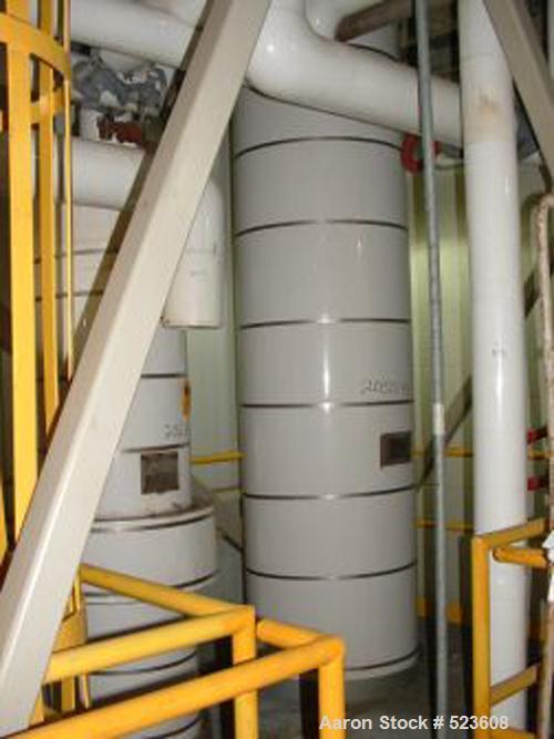 USED: 1500 gallon, 10 theoretical stage, Koch 304L stainless steelmodular batch distillation system designed for distillatio...