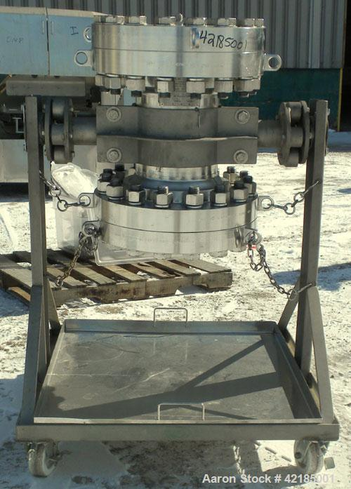 Used- 25.3 Liter Stainless Steel Diameter Fixed Bed Industrial LC Column