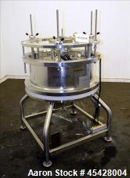 Used- Stainless Steel Amersham Biosciences Chromaflow Column, Model 800/100-300