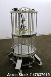 Used- Millipore HA Chromatography Column, Model IPP630X500X450. Approximate adjustable capacity 16-78 liters (4.2-20.6 gallo...