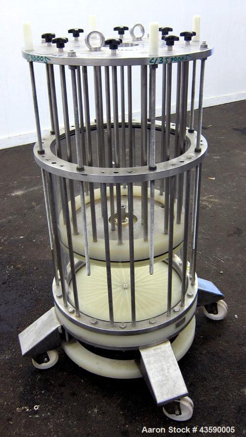 Used- Millipore Biochromatography Process Column, Model P-440X500