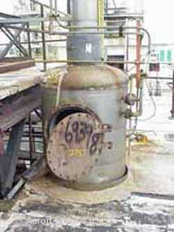 Used- Stainless Steel Missouri Boiler Works Packed Tray Column