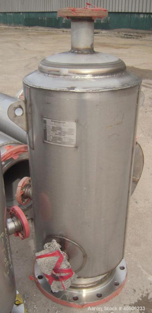 """Unused- Mueller Distillation Column, 14"""" PrimaryGlycerin Distallation Column C-601. 304L Stainless Steel, Vertical. 14'' dia..."""