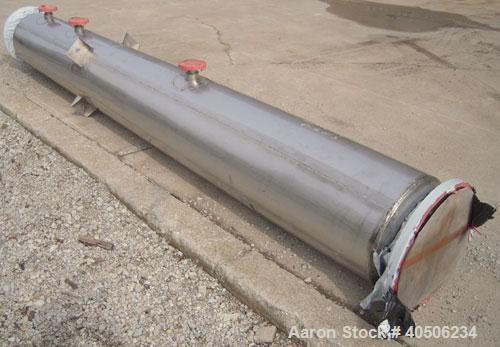 """Unused- Mueller Distillation Column, 14"""" PrimaryGlycerin Distallation Column C-601. 304L Stainless Steel, Vertical. 14"""" diam..."""
