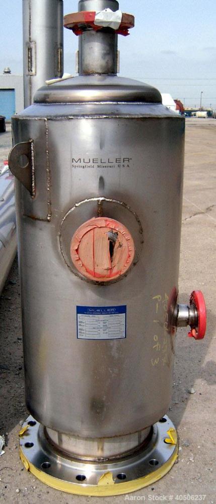"""Unused- Mueller Distillation Column, 14"""" PrimaryGlycerin Distallation Column C-601.304L Stainless Steel, Vertical. 14'' diam..."""