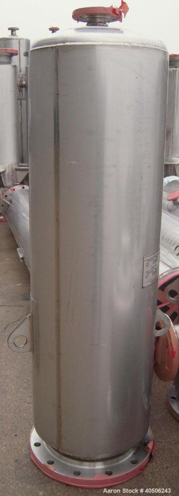 "Unused- Mueller Distillation Column, 12"" Secondary Glycerin Distallation Column C-602. 304L Stainless Steel, Vertical. 12'' ..."