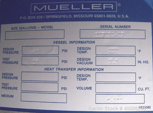 """Unused- Mueller Distillation Column,  24"""" Methanol Distillation Column, C- 801, 304L Stainless Steel, Vertical. 24"""" diameter..."""