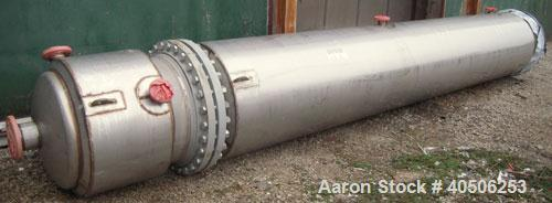 "Unused- Mueller Distillation Column, 304L Stainless Steel, Vertical. 54"" diameter x 777 7/8"" overall height, (3) bolt togeth..."